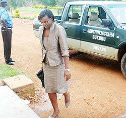 Inquiétudes quant à l'état de santé de Victoire Ingabire
