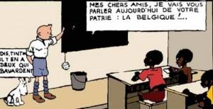 La ministre congolaise de la Culture défend «Tintin au Congo»
