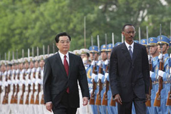 KAGAME A TRAVERS LA CHINE : REVIREMENT SOUS L'AILE DU DRAGON