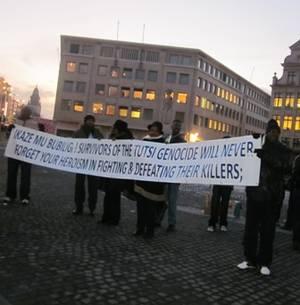 La Manifestation pro-Kagame à Bruxelles, un vrai fiasco