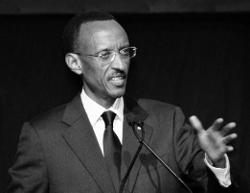 Président rwandais, P. Kagame