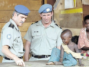Casque bleu belge au Rwanda (MINUAR)