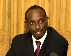 Le ministre rwandais de la santé, Richard Sezibera