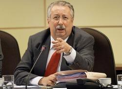 Le président de la chambre Belge, André Flahaut