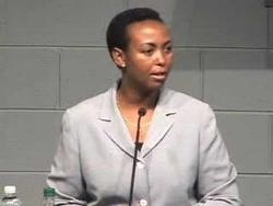 La sénatrice rwandaise, Inyumba Aloisea