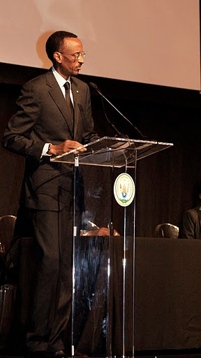 Le président rwandais, Paul Kagame
