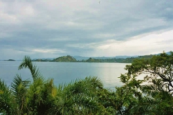 Le lac Kivu au Rwanda