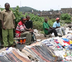 Le marché de Goma en RDC