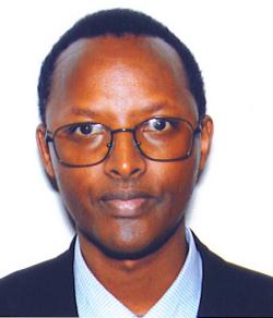 Président du PDP (Pacte pour la Défense du Peuple), Mr Mushayidi Déogratias