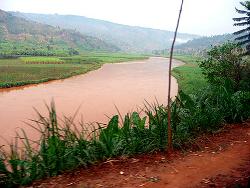 La rivière Akagera au Rwanda