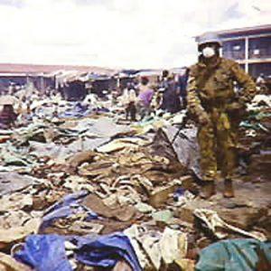 RWANDA : LE  MASSACRE  DE KIBEHO 22 AVRIL 1995