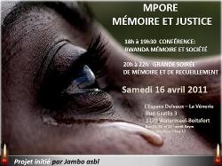 Mémoire et recueillement pour les victimes du conflit de la région des Grands Lacs