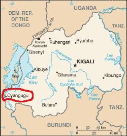 District Cyangugu, Province Ouest, Rwanda