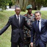Paul Kagame avec président Sarkozy