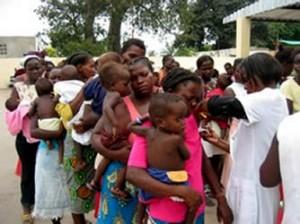 Campagne de vaccination en Afrique