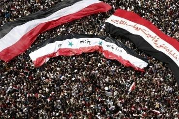 Manifestation à la place Tahrir en Egypte