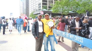 Manifestation de Chicago