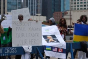 Les partisans de Paul Kagame