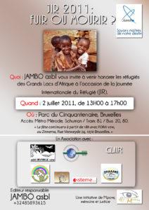 Fuir ou mourir : thèmes de la journée Internationale de refugiés 2011