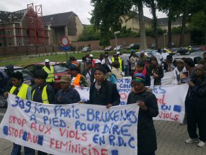 Paris-Bruxelles: 309 KM contre les violences sexuelles en RDC