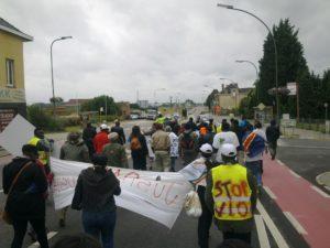 Marche Paris-Bruxelles contre les viols en RDC