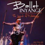 """Affiche du spectacle """"la légénde de Ndabaga"""" du Ballet Inyange"""