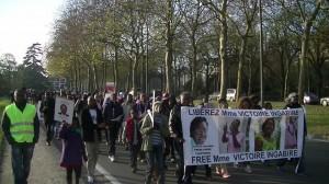 Rwanda : la manifestation du 19 novembre, à Bruxelles