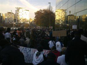 manifestation de la Diapora Congolaise