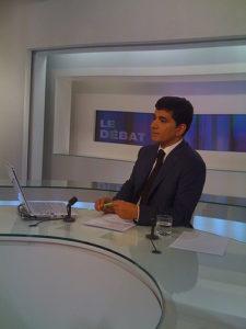 Sylvain Attal, journaliste de France 24