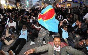 Manifestation RDC du 5 décembre à Bruxelles. Source: Belga