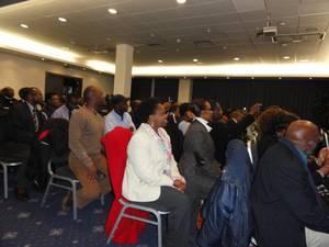 Conférence de Paul Rusesabagina à Bruxelles