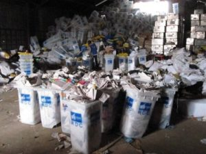 Bulletins de vote compliés en RDC