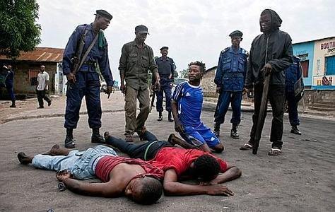 RDC: lourd bilan de la crise post- électorale