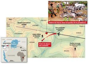 Cartographie du lieu ou les missiles auraient été tirés selon les experts, source: Nouvelobs