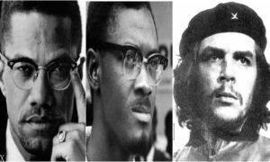 Malcolm X, Lumumba, Che Guevara