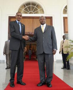 Museveni Kagame Copyright Paul Kagame (flickr yahoo)