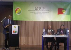 """Conférence de lancement du """"MRP"""""""