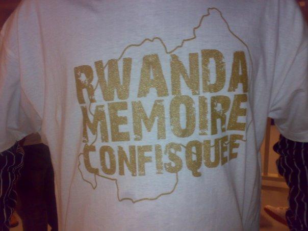 Paris : manifestation « commémorative et de la vérité sur le Rwanda »