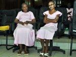 Agnes Uwimana et Saidat Mukakibibi, source: rsf.org
