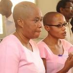 Agnès Uwimana et Saïdath Mukakibibi