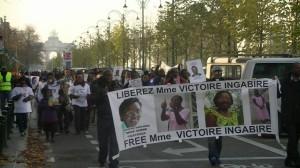 Bruxelles : Manifestation de soutien à Victoire Ingabire