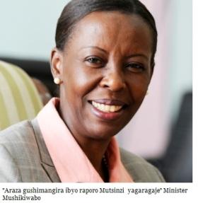 Rwanda-RDC : Louise Mushikiwabo à Kinshasa