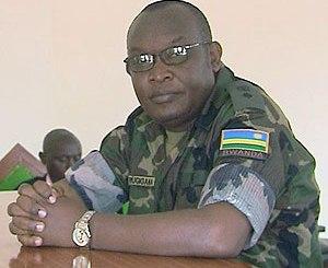 Lt Col Rugigana Rugemangabo, frère du Général Kayumba Nyamwasa