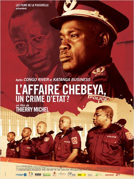 """Affiche du film """"Affaire Chebeya, un crime d'état?"""""""