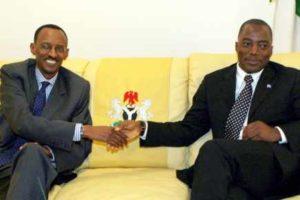 Les présidents Paul Kagame et Joseph Kabila