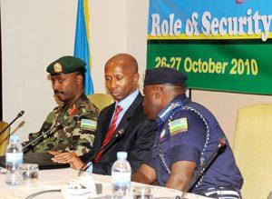le Ministre rwandais de l'intérieur, Mussa Fazil Harerimana
