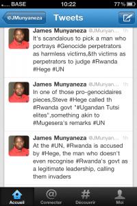 Rwanda – RDC : Steve Hege, l'homme à abattre