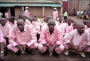 Prisonniers rwandais