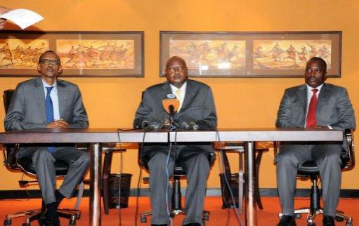 RDC : Kagame, Kabila et Museveni exigent le départ du M23