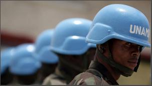 Les casques bleux au darfour
